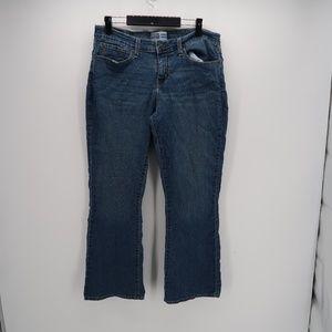 Levi's Blue Modern Boot Cut Jeans Size 16